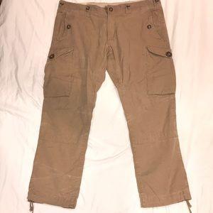 Polo Khaki cargo pants 40x30